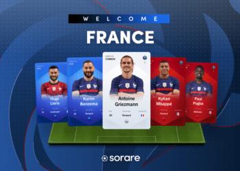 Los vigentes campeones mundiales ya cuentan con sus NFT en el fantasy fútbol de Sorare.