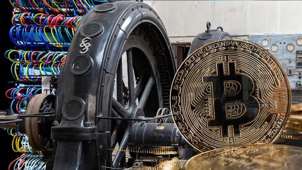 Central hidroelectrica, granja y bitcoin.