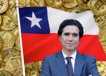 Briones, bandera de Chile y btc.