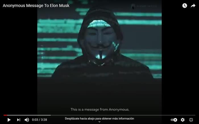 Anonymus questions Elon Musk for 'manipulating the price of bitcoin'