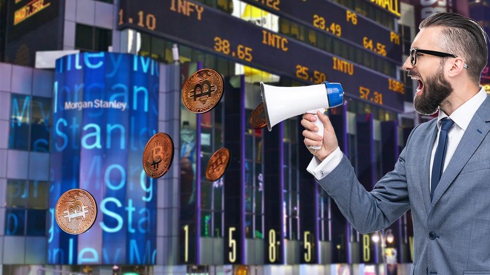 morgan stabley banco estados unidos invita inversionistas bitcoin