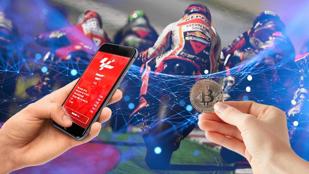 Moto GP, bitcoin y teléfono con token en Bitci.