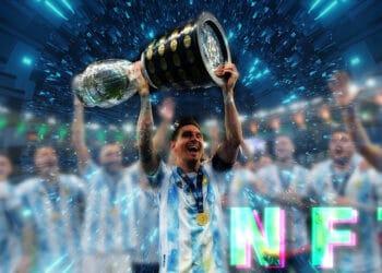 tokes coleccionables nft copa America Messi