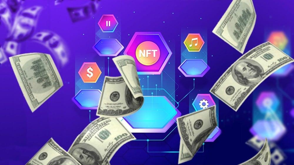 NFT y dólares.