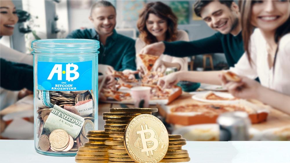 ong bitcoin argentina recaudación donación bitcoin pizza day