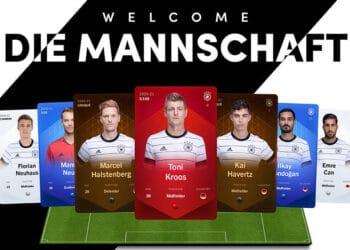 nft selección futbol alemania Sorare
