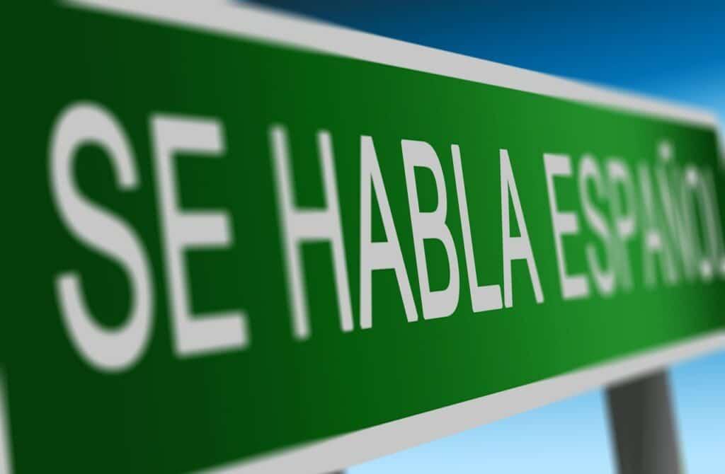 Se habla español.