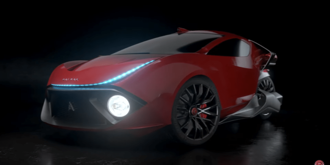 automóvil eléctrico spiritus de Daymak Avvenire