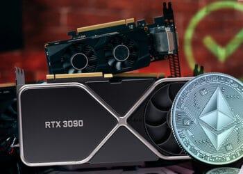 minería criptomonedas tarjeta video GPU Ethereum Nvidia