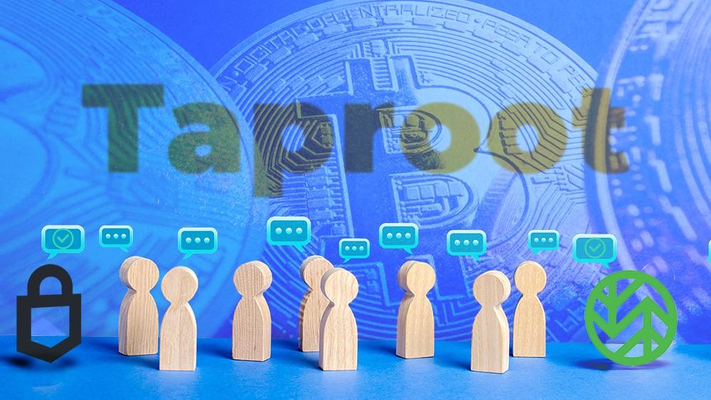monederos bitcoin actualizarán a taproot