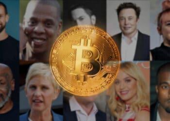 celebridades hollywood criptomonedas bitcoin