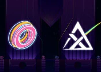 Logos de empresas OMNI y Apollo-X