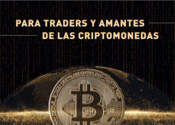 Moneda Bitcoin en el espacio con la tierra detrás