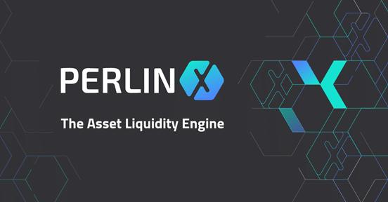 Logo del motor de liquidez de activos PerlinX