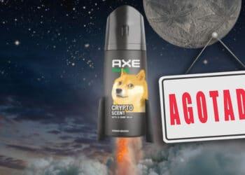 desodorante axe dogecoin elon musk agotado