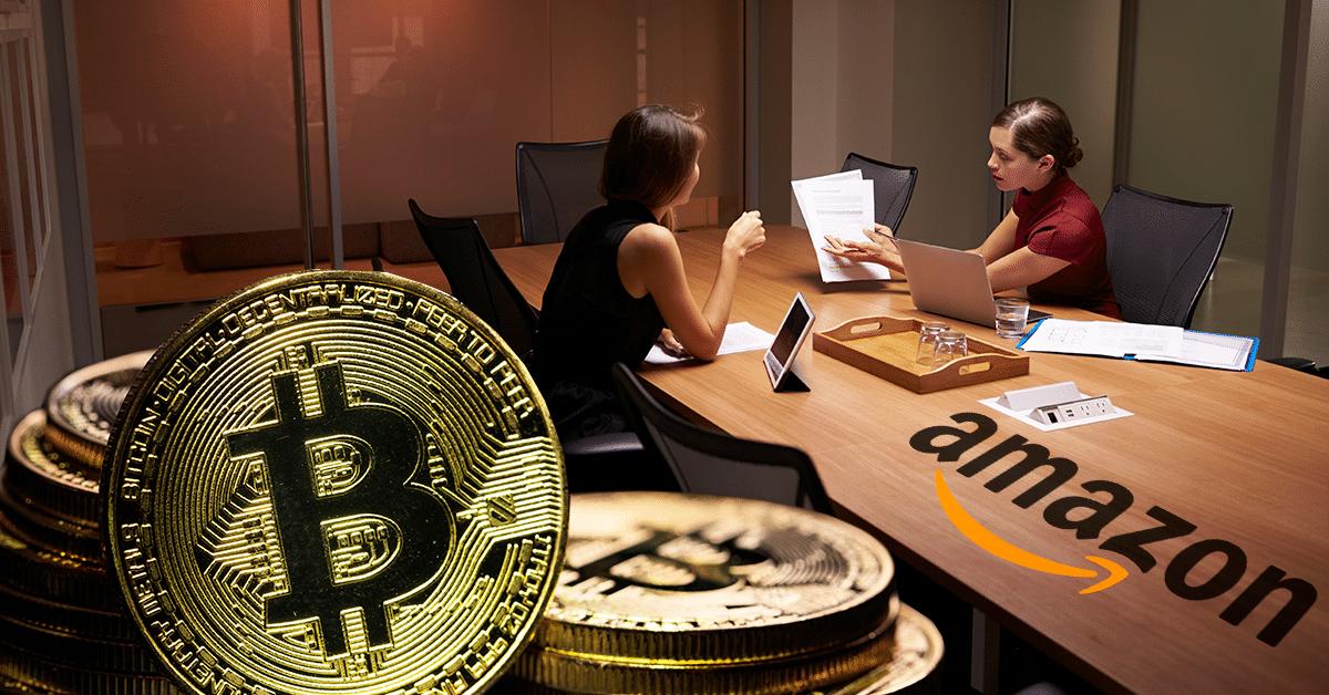 Amazon busca experto en criptomonedas ¿se prepara para adoptar bitcoin?