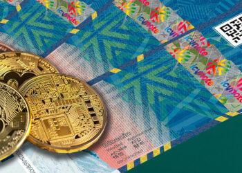 billetes bitcoin