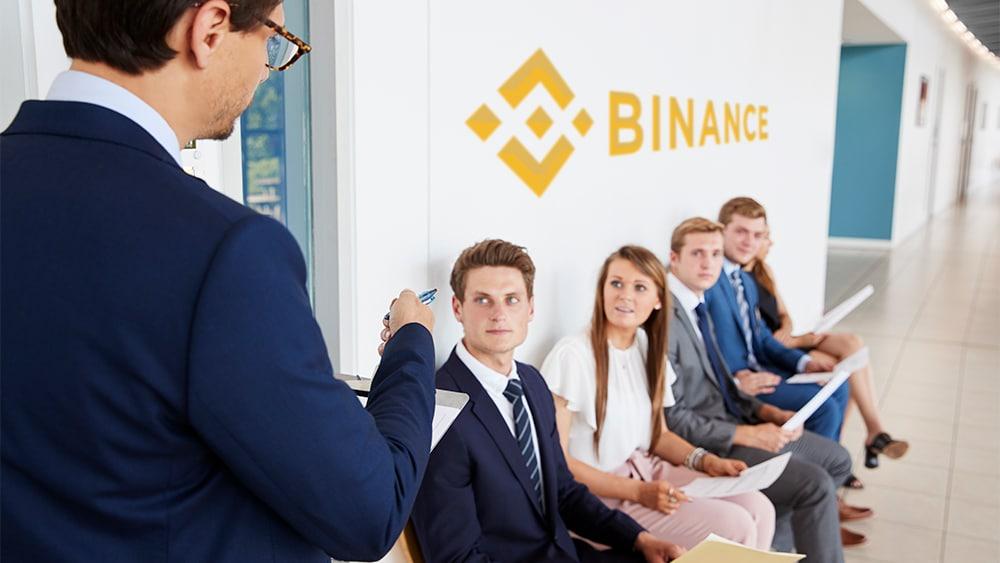 regulaciones binance exchange busqueda personal nuevo CEO