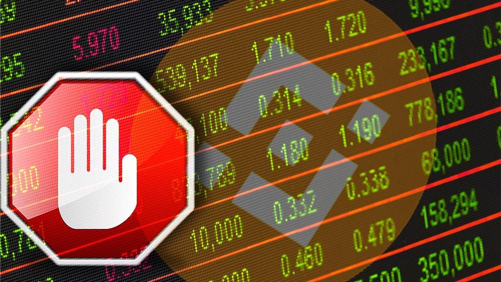 binance comercio tokens acciones bolsa valores