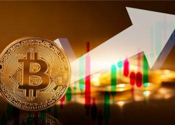 Bitcoin alcista.