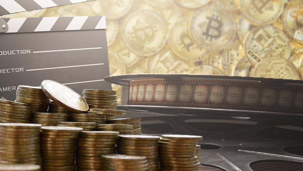 Componentes cinematográficos y bitcoins.