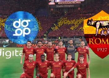club futbol italiano AS roma asociación digital bits