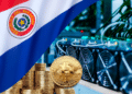 Mineros de BTC con bandera de Paraguay.