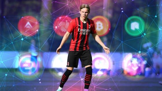 Ahora con el AC Milan, las criptomonedas pisan fuerte en el fútbol de Italia