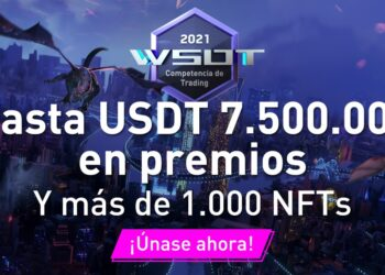 Pancarta promocional del torneo de trading WSOT