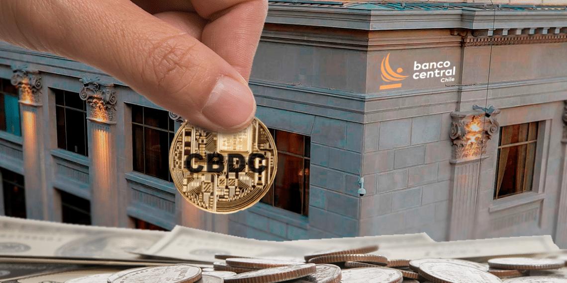 Banco central de Chile con moneda CBDC.