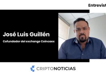 José Luis Guillén, Co fundador del exchange Coincaex.