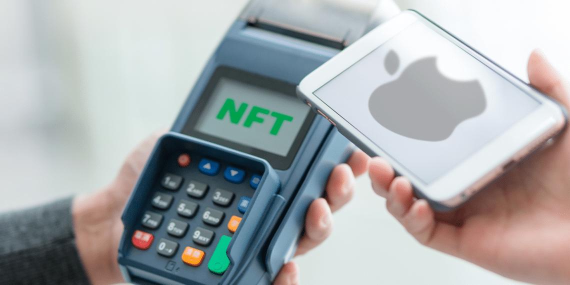 Medio de pago NFT y Apple.
