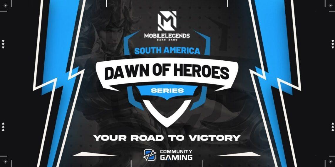 Pancarta promocional del torneo esports Mobile Legends