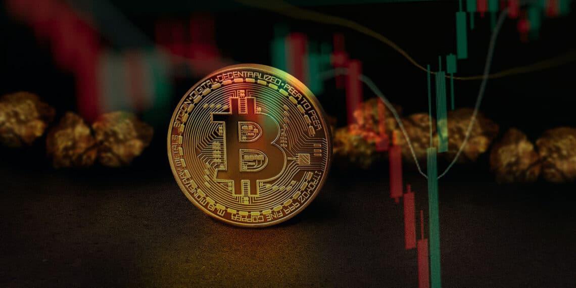 El entorno macroeconómico lleva a los inversionistas hacia activos como bitcoin y oro. Composición por CriptoNoticias. Fuentes:  digital designer en Pixabay