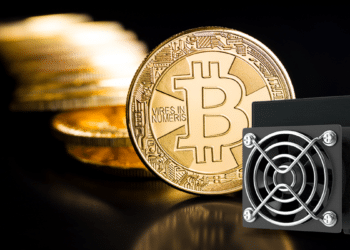 Bitcoin y minero.