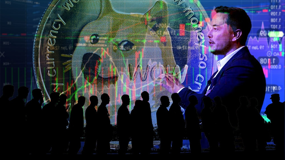 crecimiento usuarios dogecoin influencia elon musk 2021