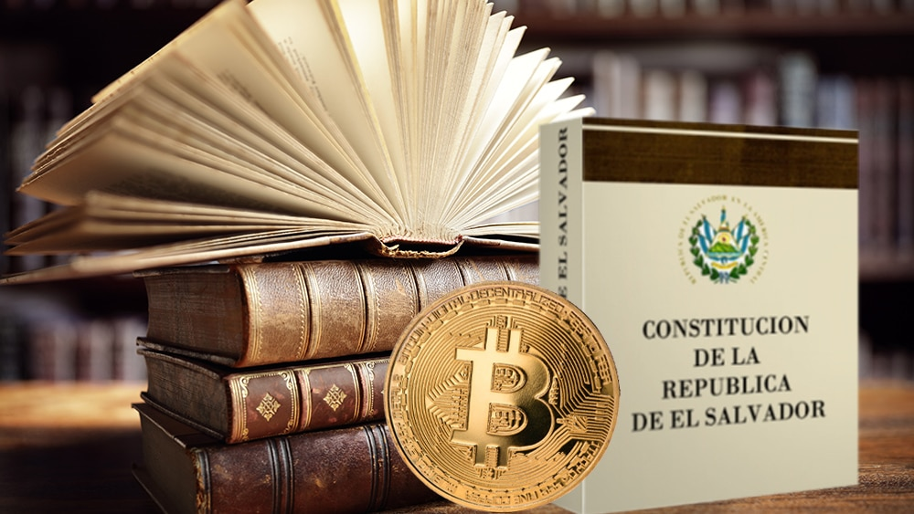 regulación constitución el salvador bitcoin criptomonedas moneda legal