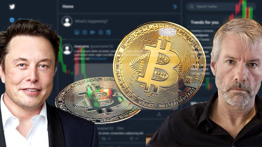 efecto precio bitcoin conversaciones michael saylor elon musk