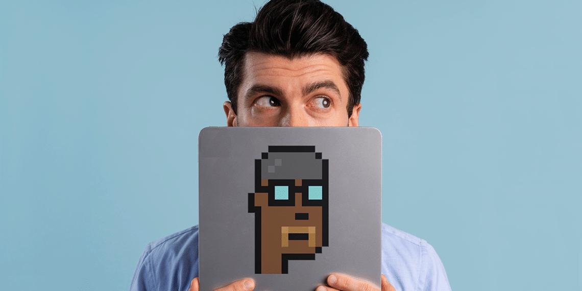 Persona con tablet y Cyberpunks.