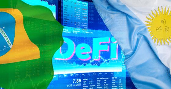 Argentina y Brasil son los países de Latinoamérica con mayor uso de las DeFi