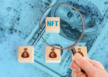 Dólares, NFT y lupa.