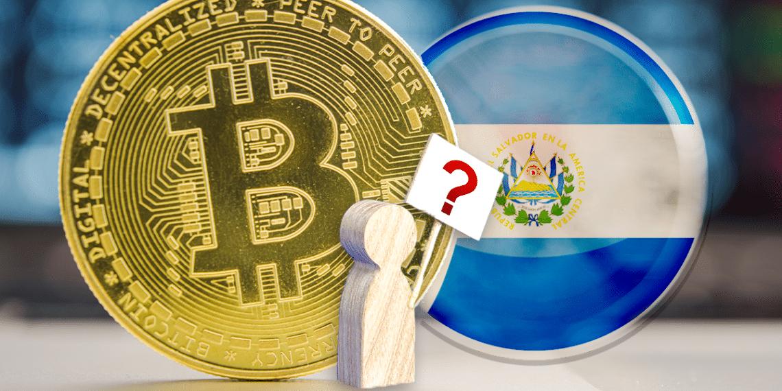 Persona pregunta, BTC y El Salvador.