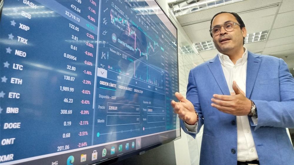 Eleazar Colmenares encabeza Cryptobuyer Venezuela, que dará continuidad a las actividades de la empresa en el país. Fuente: Cortesía.