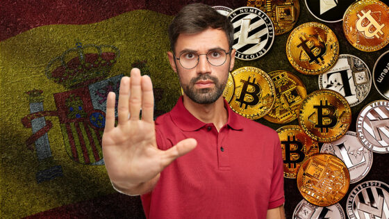 España advierte sobre 12 servicios de inversión y trading de bitcoin