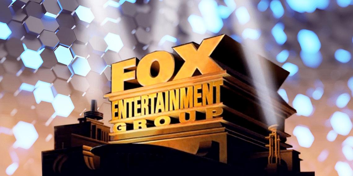 Logo de Fox y red hexagonal.