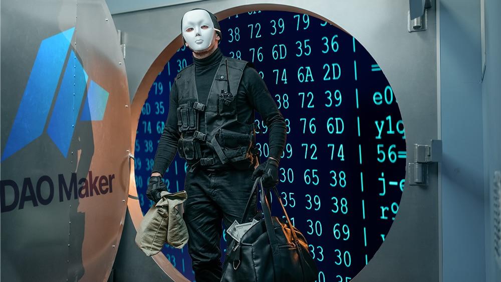 hackeo dao maker robo 5000 usuarios