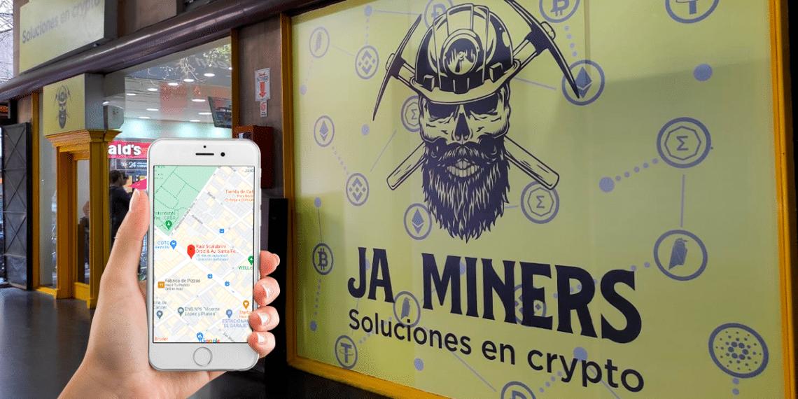 JA Miners inaugura su local en el barrio de Palermo, Ciudad de Buenos Aires. Fuente: CriptoNoticias.