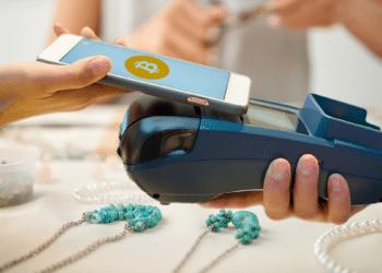 Medio de pago con BTC en joyería.