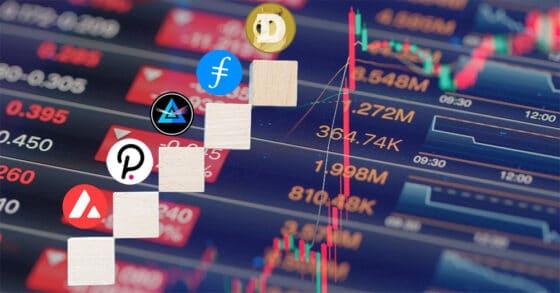 Dogecoin y Filecoin vuelven al top semanal: el mercado sigue con saldo en verde