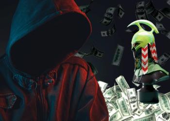 NFT, enmascarado y dólares.